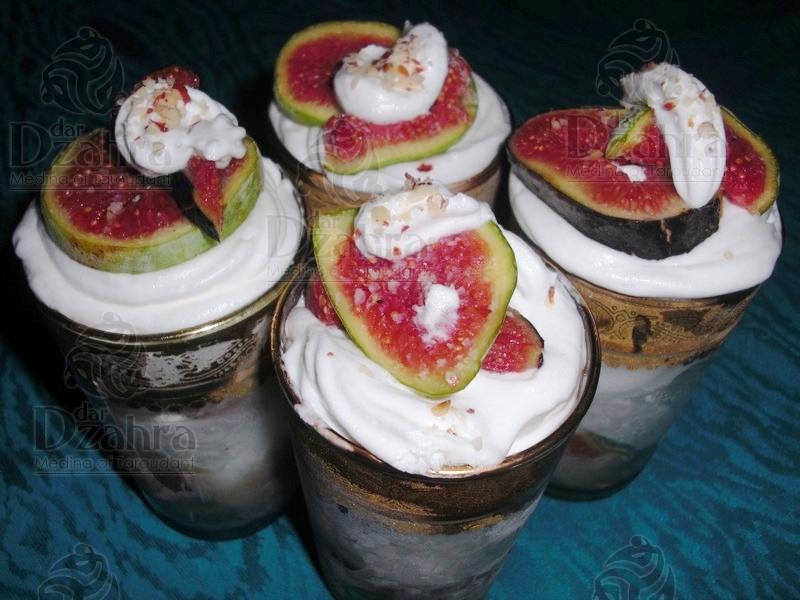 Figues glac e dar dzahra riad dar dzahra for Cuisine zahra