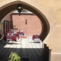 Le patio du riad