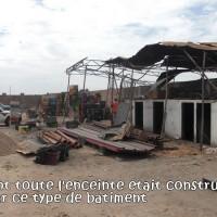 Reste des batiment du souk des grossistes à Taroudant