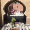 Patio du Riad Dar Dzahra de Taroudant