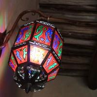 Reflets de la lanterne