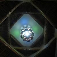 Jeux de lumières sur le plafond
