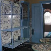 Salle d'eau du Pacha à Dar Dzahra Taroudant