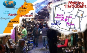 Dar Dzahra Au centre médina Taroudant