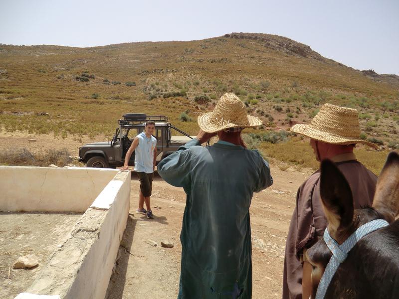 Tizi N'el Cadi 1358m Jebel BOUTRID (Est Immoulas)